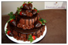 Three-Tier Chocolate Cake