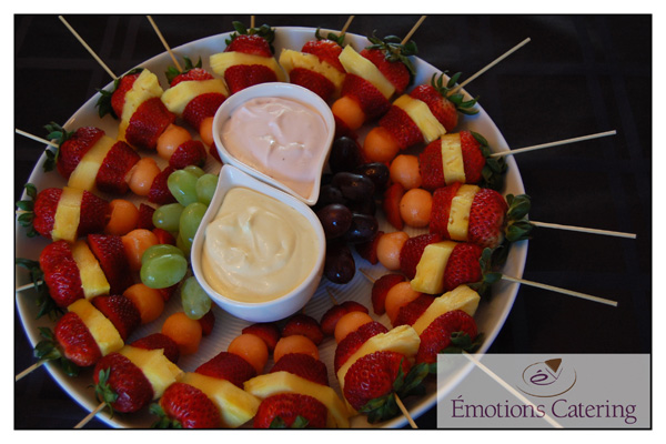 Refreshing Fruit Brochettes