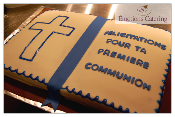 Specialty Cake for First Communion