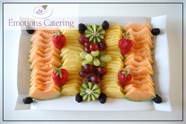 Refreshing Snacks - Fruit Platter