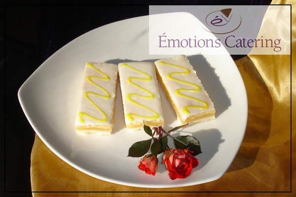 Dessert Menu - Sunburst Lemon Bars